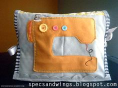 Tons of tutorials for sewing machine covers gathered together by The DIY Dreamer