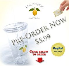 Pre-Order a LÉMONESSE eco-friendly tumbler cup ---> http://Lemn.es/wow9Nb <--- Dishwasher safe and BPA free. Do something good for the environment. Limited supply, that's why we are offering pre-orders now! -Adam