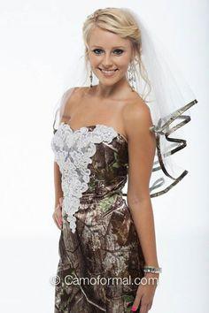 wedding dress... redneck all the way!!!