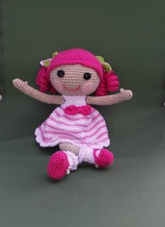 """Loopsy Doll Dress to crochet 