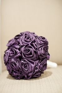 Hand Made Fabric Bouquet - Bride