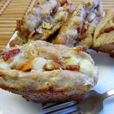 cook, grilled stuffed pork chops, stuf pork, food, stuffed pork chops recipes, bacon, asiago stuf, yummi, pork chop recipes
