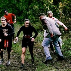 "Zombie 5k with ""chaser zombies""!  This is a fun idea!"