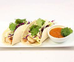.       Mahi Mahi Fish Tacos with Chipotle Slaw and Roasted Pineapple Sauce Recipe Reviews at Epicurious.com