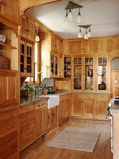 Craftsman / Arts and Crafts Kitchen Cabinets