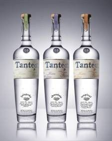 Tanteo is a 100% Weber blue agave tequila with natural extracts of jalepeño, chocolate and tropical fruit....  hello?