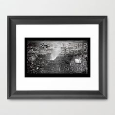 #ERROR57.08 Framed Art Print by pixel404 - $37.00