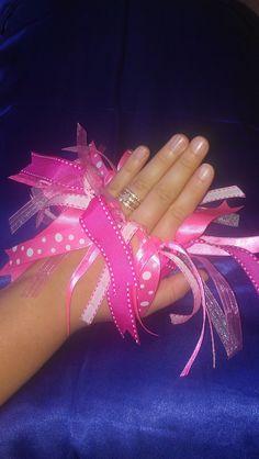 Precious Pink Hair Ribbon. $7.50, via Etsy.