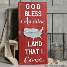God Bless America Board