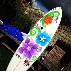 how to use posca pens on surfboards