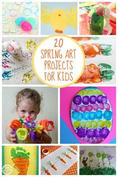 20 Spring Art Projects - Kids Activities Blog