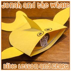 Jonah and the Whale - Bible Lesson (free printable)
