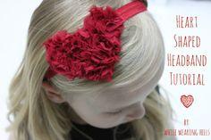 Heart Headband Or Pin Tutorial
