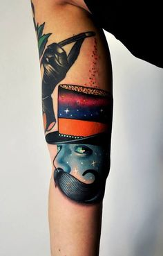 more #tattoo magic by Marcin Aleksander Surowiec