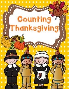 FREE Counting Thanksgiving Math Book