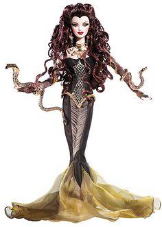 Greek Mythology Barbie - Medusa