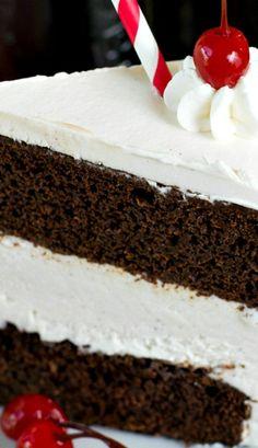 Root Beer Float Ice Cream Cake