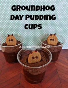 groundhog day puddin