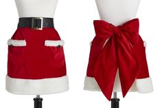 Too cute apron for the holidays