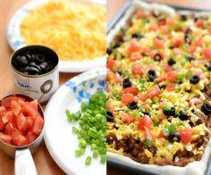 sour cream, foods, taco pizza, food blogs, pizzas