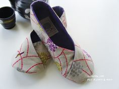 Trudi finds the BEST pins....here is what she says:  Kimono shoes pattern...been wanting to make some shoes out of my scrap fabric