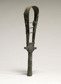 Egyptian sistrum (ancient musical instrument used in ceremonies)
