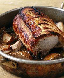 pot roast pork with pearsNigel Slater/ baked pear recipes  