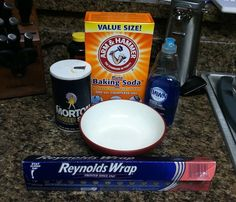 Homemade jewelry cleaner-Just used this, my tarnished cheap jewelry looks shiny and new!!