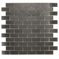 urban metal mosaic tiles
