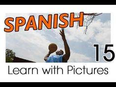 ▶ Learn Spanish - Spanish Sports Vocabulary - YouTube