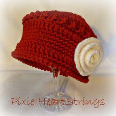 The Falalalala Beret... Beautiful crocheted beret...