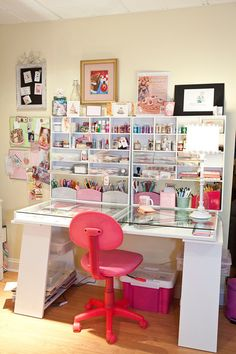 Marion Cardwell-Ferrer & her studio are featured in the Aug/Sep/Oct '13 issue of Where Women Create magazine | Photography by Tiffany Kirchner Dixon #studio #office
