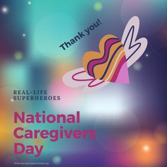 ❤️Happy National Caregivers Day! Sending love, appreciation &  thanks to our caregivers, our real life superheroes, today & every day. We ❤️ you!