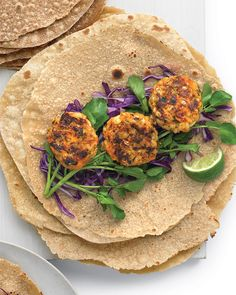 Sweet Potato Patty Wrap Recipe