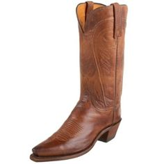 1883 by Lucchese Women`s N4604 5/4 Western Boot,Tan Burnish,10 B(M)US $350.00