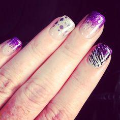 Best Purple Nail Art Designs 2014
