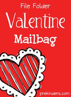 File Folder Valentine Mailbag