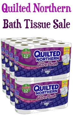 Quilted Northern Ultra Plush Toilet Paper Double Rolls Sale: 47c each + FREE Shipping!