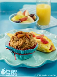 Sunshine Peach Muffins