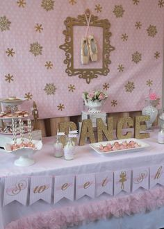 Lovely Nutcracker party!    See more party ideas at CatchMyParty.com!  #partyideas #christmas