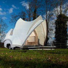Opera Camper fashion camp, camp set, glamp, camp trailer, fun, design icon, fold camp, camp tent, camping trailers
