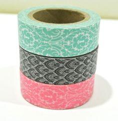 Washi Tape Set: Vintage Lace. $8.00, via Etsy.