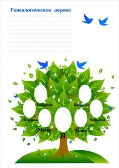 Родословное дерево своими руками