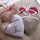Monogrammed Heart - interior accessories