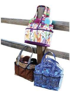Designer Bag Pattern - Projects to Go Tote