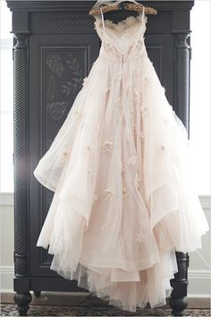 Watters Olivia gown is breathtakingly amazing.
