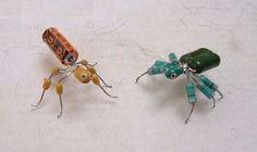 cute computer bugs.....junkit program - make keyboard jewelry too
