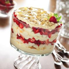 Strawberries and Cream Trifle from Eagle Brand®