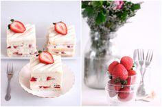 Strawberry shortcake looks heavenly