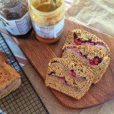 Peanut Butter & Strawberry Jelly Bread